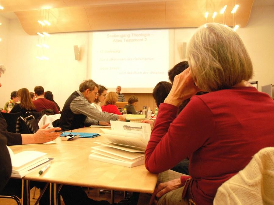 Lernen fürs Leben: Vorlesung beim TBI