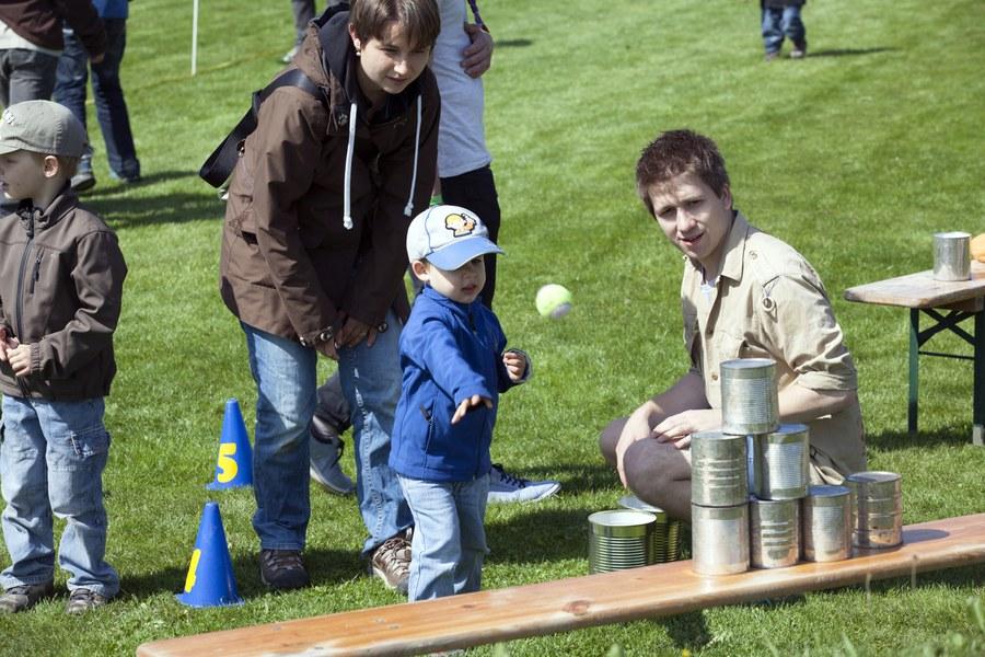Die Pfadi bietet Spiel und Spass für Kinder.