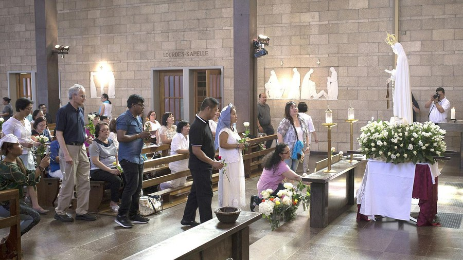 Die philippinischen Katholikinnen und Katholiken sind auch in Winterthur aktiv.