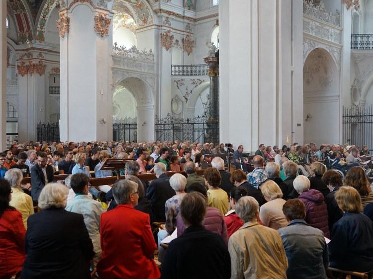 Wallfahrtsgottesdienst in der Klosterkirche Einsiedeln