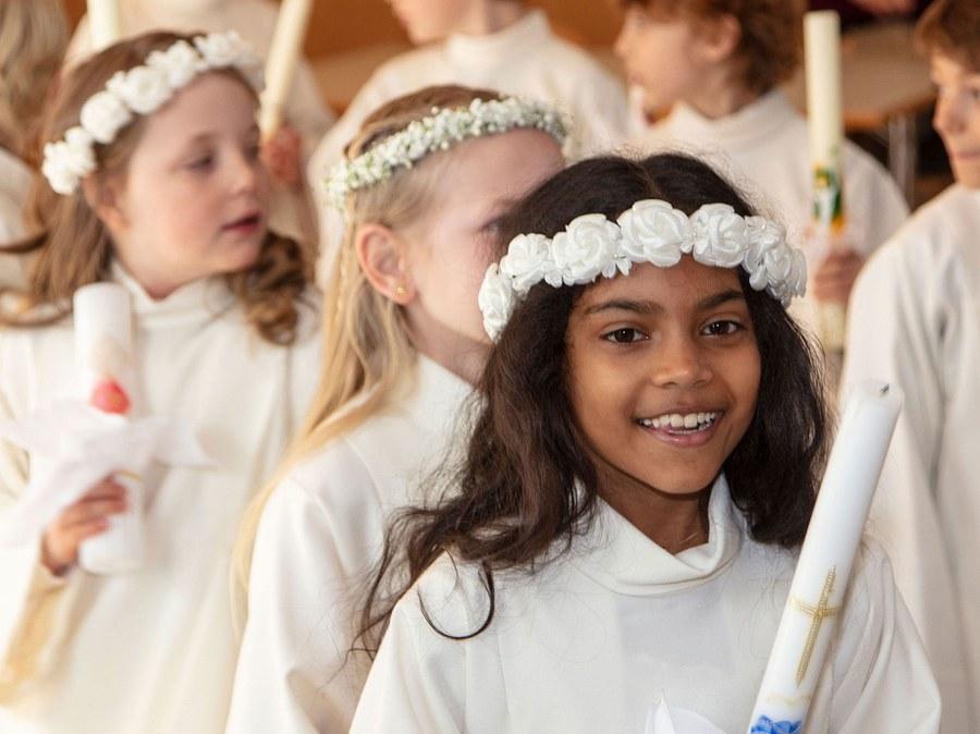 Erstkommunion am Weissen Sonntag
