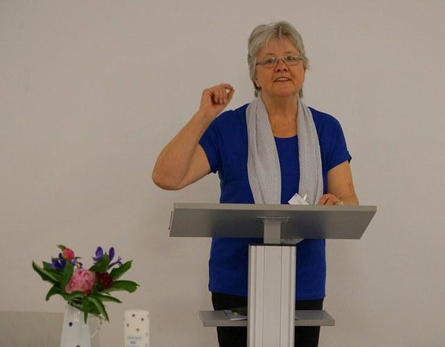 Amanda Ehler, Präsidentin KFB Zürich