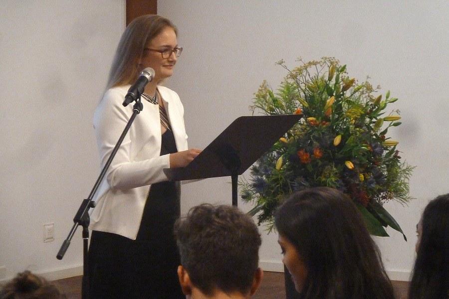 Festrednerin FKSZ Celina Hieronymus