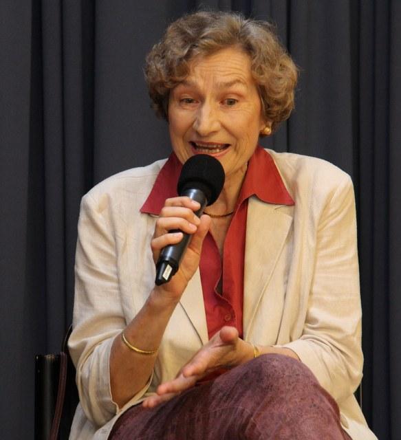 Alt-Kirchenrätin Irène Gysel
