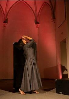 Christine Lather als Silja Walter.
