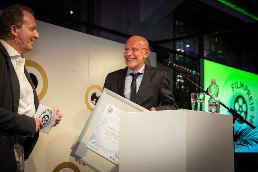 Preisverleihung des Filmpreises der Zürcher Kirchen.