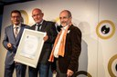 Stolzer Preisträger war Christian Krönes