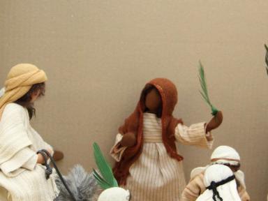 Palmsonntag: Die Menschen jubeln Jesus zu