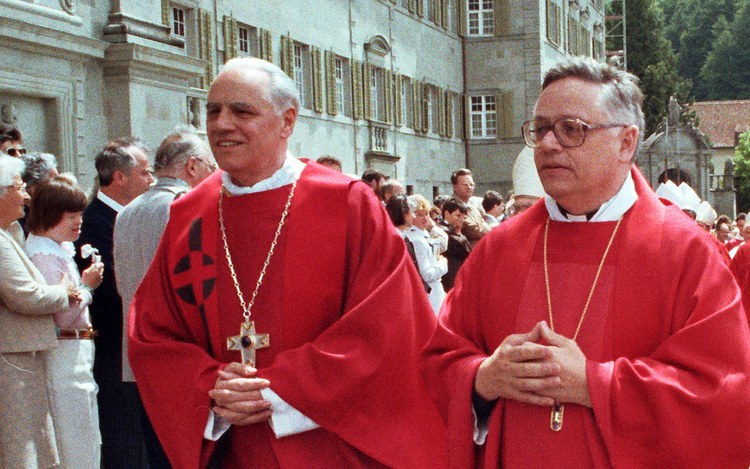 25 Jahre Weihbischöfe Peter Henrici und Paul Vollmar
