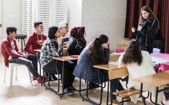 Spende für Flüchtlinge im Libanon