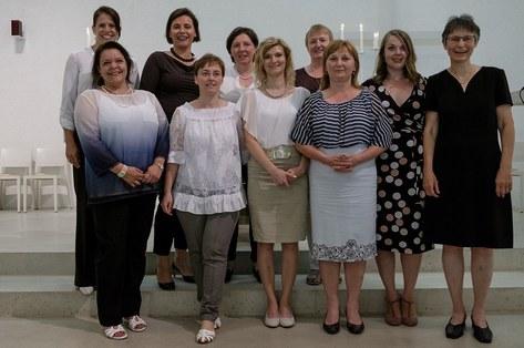 Fachausweis für die zwölf neuen Katechetinnen