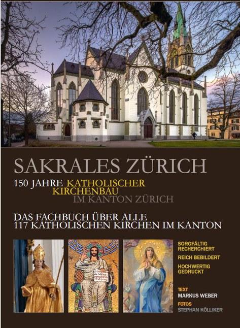 Flyer Buchprojekt Sakrales Zürich