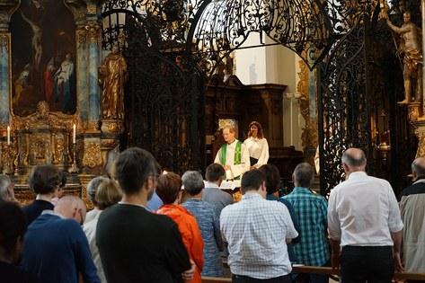 Gottesdienst in der Klosterkirche Muri zum Jubiläum 10 Jahre Spitalseelsorge_FOTO_Arnold Landtwing