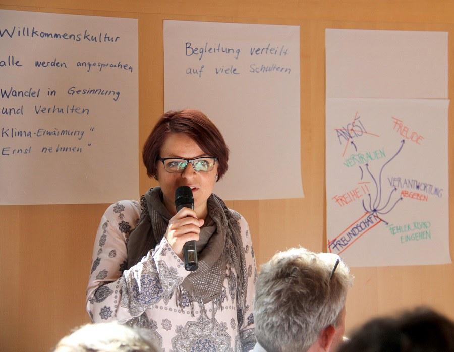Anja Beroud, Leiterin Animatinssstelle Katholische Jugendarbeit Winterthur
