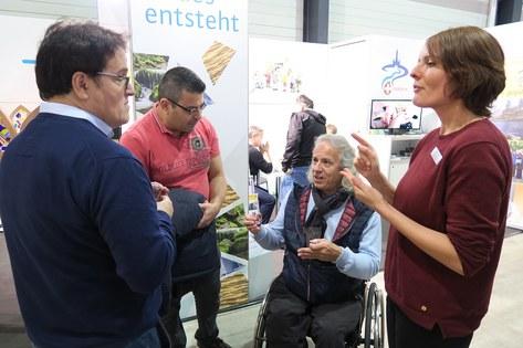 Stand der Behindertenseelsorge an der Swiss Handicap