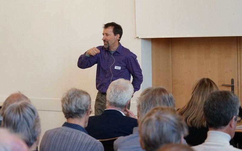 Hauptreferent Thomas Wallimann-Sasaki: «Wer Werte nicht prüft, handelt fahrlässig.»