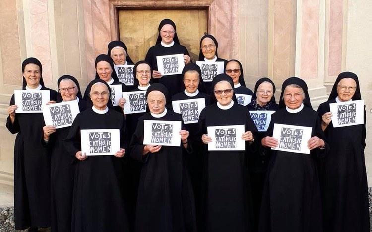 Stimmrecht in der Kirche - auch für Frauen
