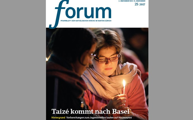 Heute im forum: Taizé kommt nach Basel