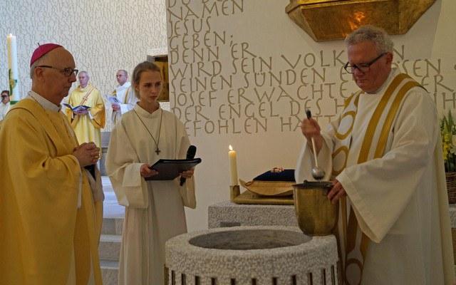 Kirchweihe in Horgen mit spirituellem Tiefgang