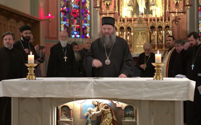 Osterfeier führt orthodoxe Kirchen zusammen