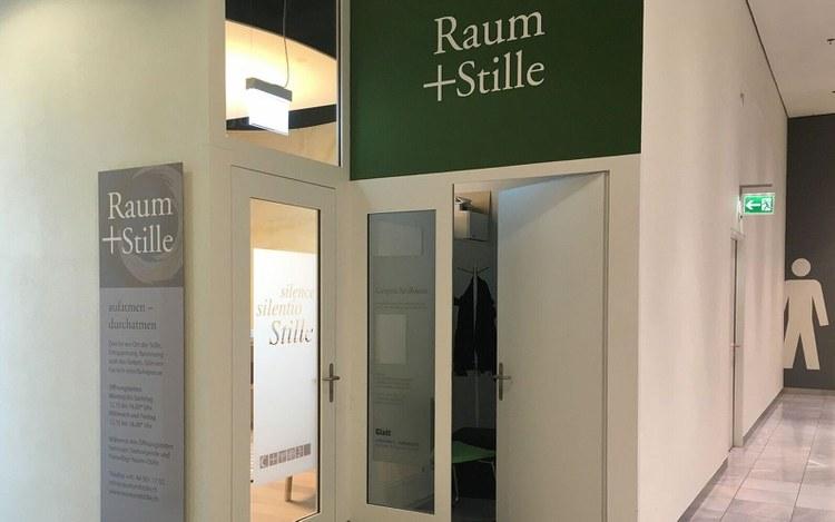"""Glattzentrum: """"Raum+Stille"""" als rege genutztes Angebot"""