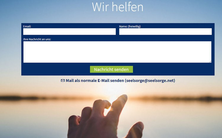 seelsorge.net: So kommt Hilfe näher zu den Menschen