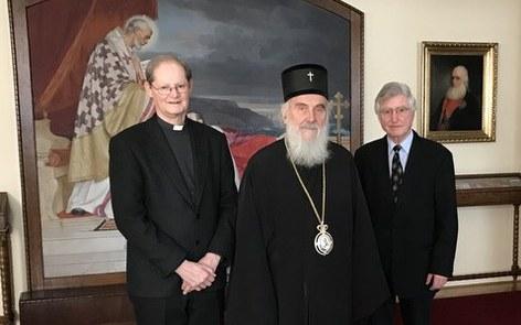 Serbisch-orthodoxer Gipfel mit Generalvikar Annen