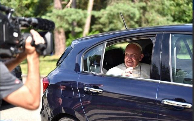 So war es gestern in Genf: Der Papst kam zu Besuch