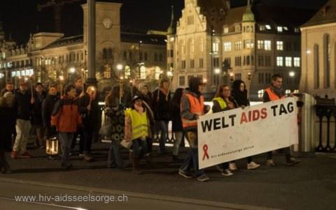 Solidarität zeigen zum Weltaidstag