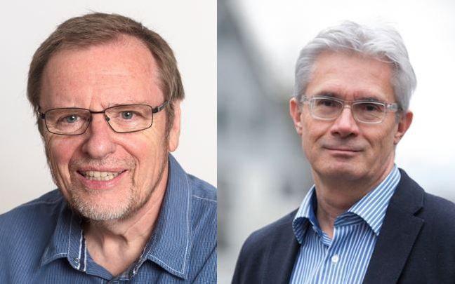 Stabübergabe von Bernd Kopp zu Andreas Beerli