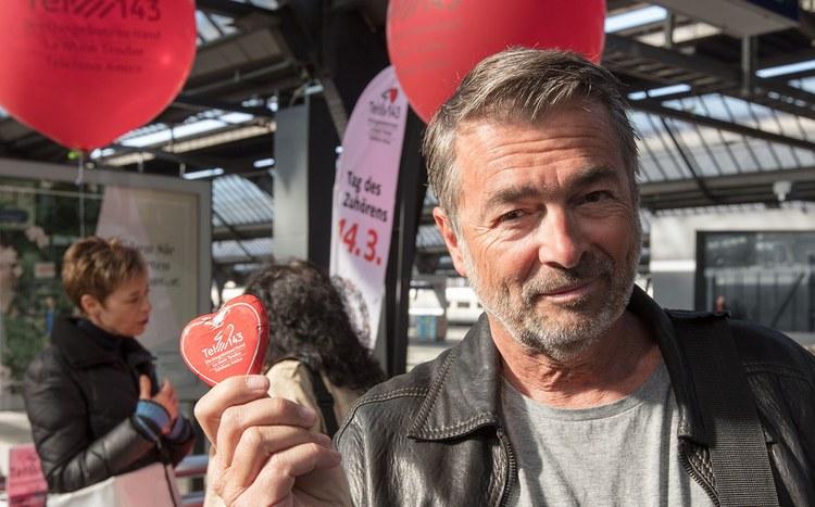 Dargebotene Hand - Tag des Zuhörens mit Stefan Gubser