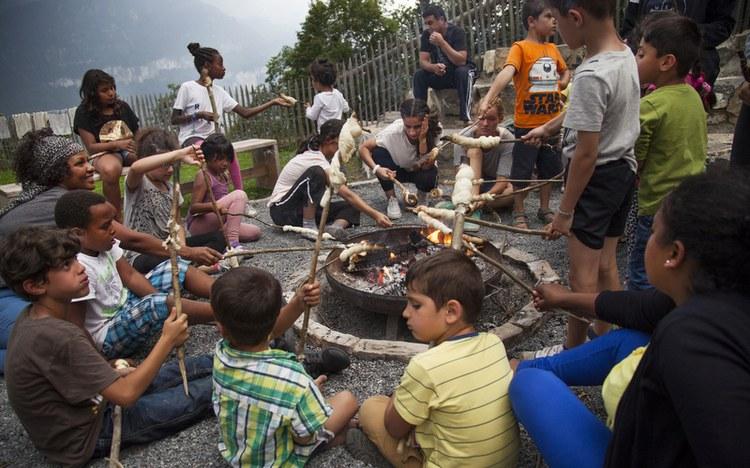Unbeschwerte Ferienwoche für 79 Flüchtlinge