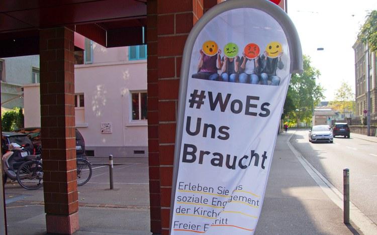 #WoEsUnsBraucht: Kirchen zeigten sich auf andere Art