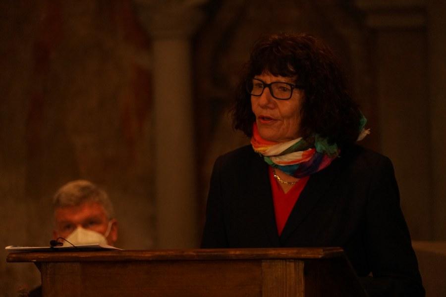 Annelies Hegnauer, Präsidentin der evangelisch-reformierten Kirchgemeinde Zürich