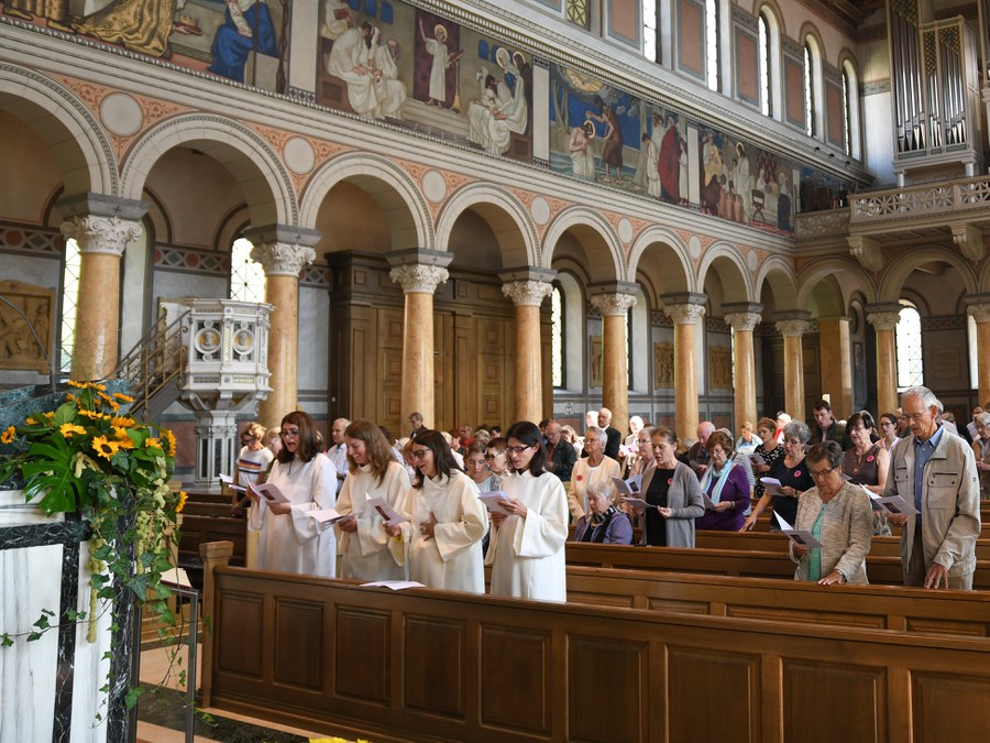 Missiofeier  2019 in der Liebfrauenkirche Zürich. Foto: Ernst Langner