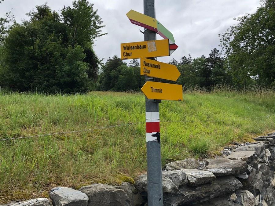 Viele Wege führen nach Chur