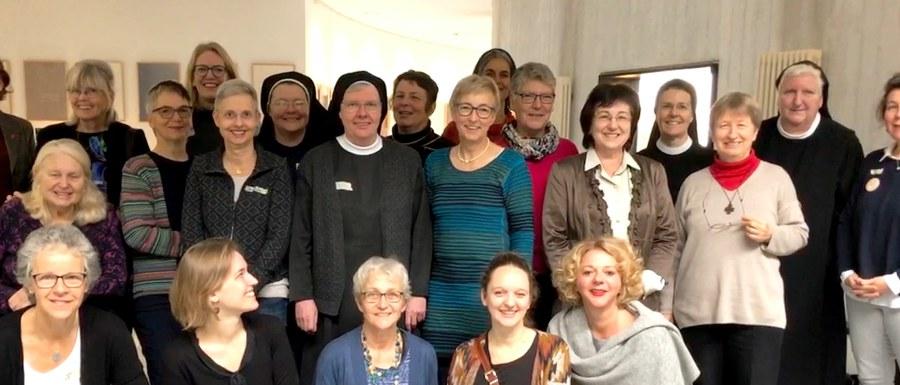 Katholische Frauen aus Deutschland, der Schweiz, Österreich und Liechtenstein bei der Gründung des neuen Netzwerkes. ZVG.jpg