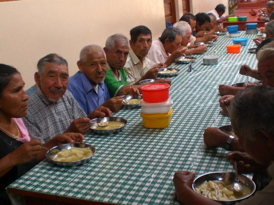 Der Comedor (Armenküche) in der Pfarrei San Felipe in Soritor, unterstützt von einer Partnerpfarrei in Deutschland
