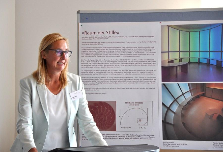 Pflegedirektorin Ingrid Wolf. Foto: Clienia Schlössli AG