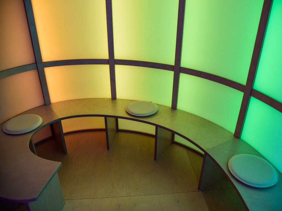 Raum der Stille in der Klinik Schlössli. Foto: zVg