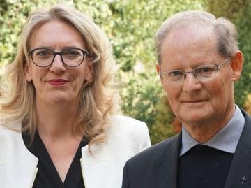 Franziska Driessen-Reding und Josef Annen