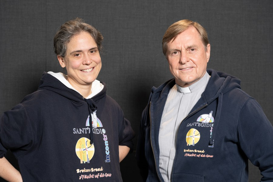 Stolze Preisträger Sr. Ariane und Pfr. Karl Wolf. Foto: Female Innovation Forum/Tomek Gola