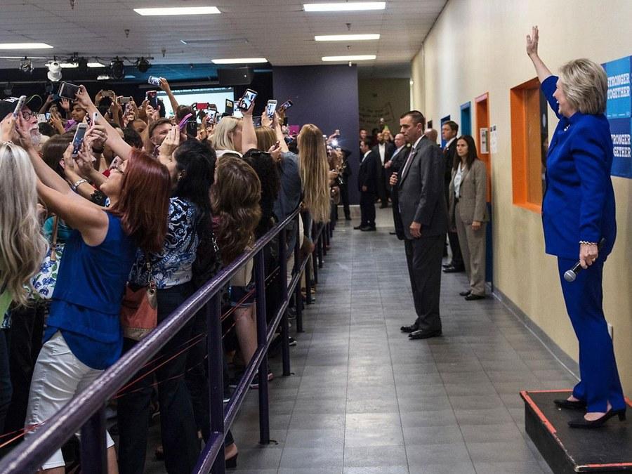 Foto: Barbara Kinney – Hillary for America