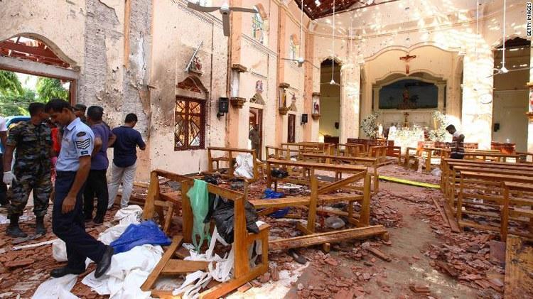 Wir beten für die Terror-Opfer in Sri Lanka