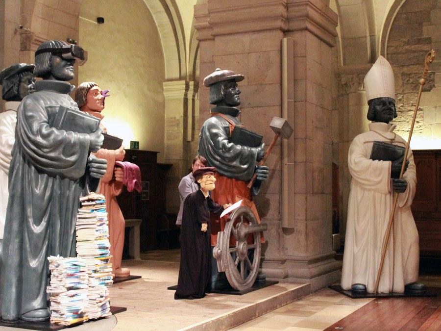 Zwingli-Versteigerung. Foto: Nena Morf reformiert.info