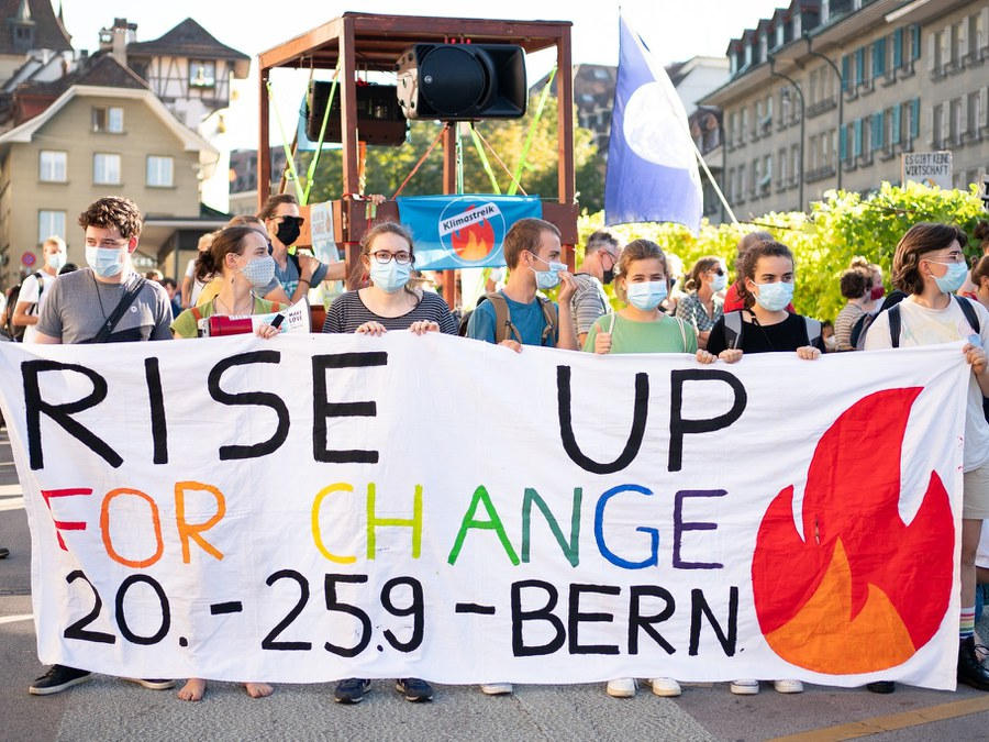 Climatestrike Switzerland; Manuel Lopez