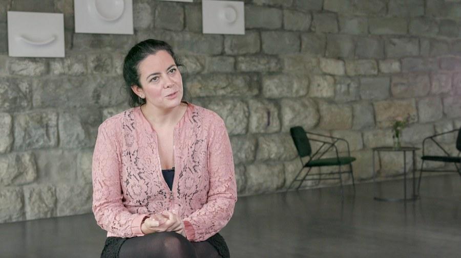 Romina Monferrini ist eine der Moderatorinnen
