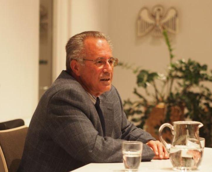 Franz Annen bei den Novebergesprächen 2012 zum 2. Vatikanischen Kmonzil. Foto:Hartmut Schüssler