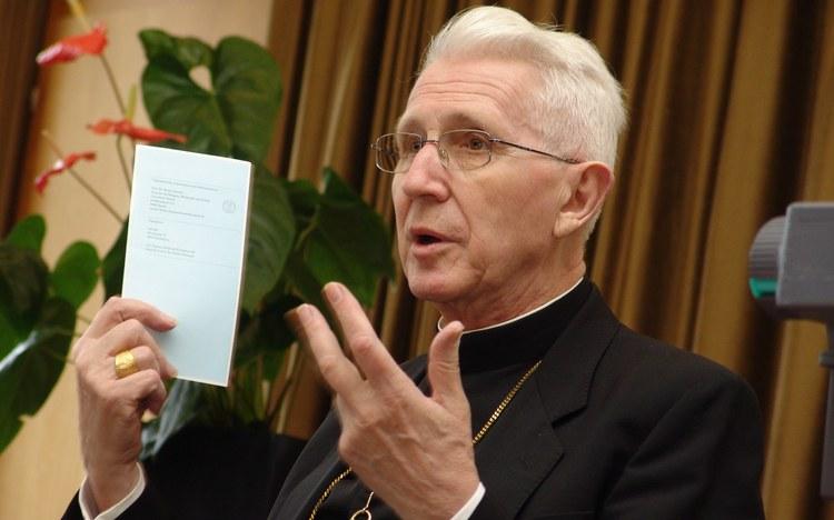 Bischof Amédée Grab verstorben