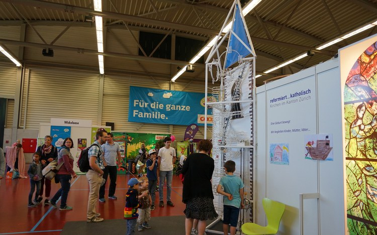 FamExpo in Winterthur: Mit Kindern kommt Gott ins Haus